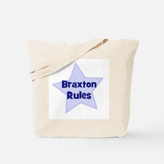 Braxton Rules Tote Bag