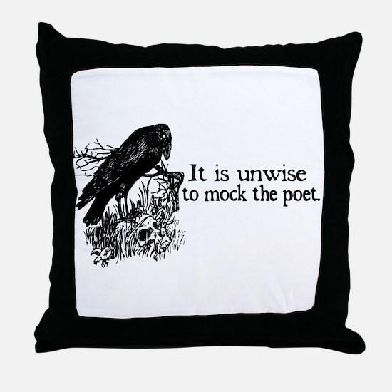 Poet Throw Pillow
