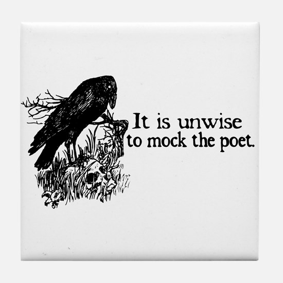 Poet Tile Coaster