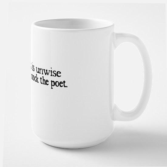 Poet Large Mug