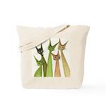 Yukon Whimsical Cats Tote Bag