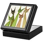 Yukon Whimsical Cats Keepsake Box