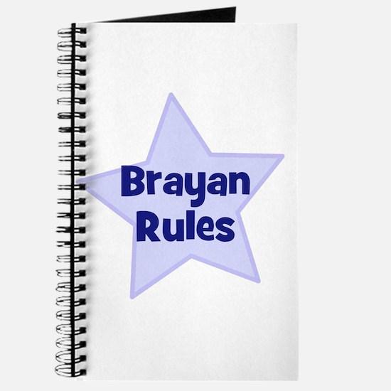 Brayan Rules Journal