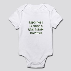 Happiness is being a REAL EST Infant Bodysuit