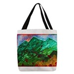 Green Mountains Polyester Tote Bag
