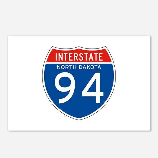 Interstate 94 - ND Postcards (Package of 8)