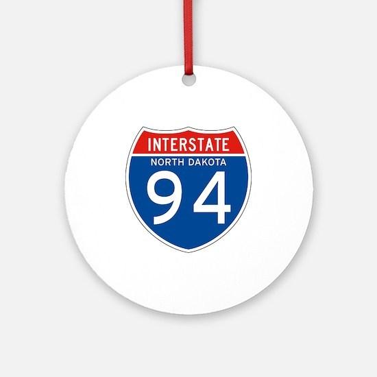 Interstate 94 - ND Ornament (Round)
