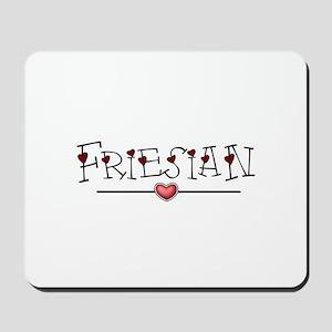 Friesian Hearts Mousepad