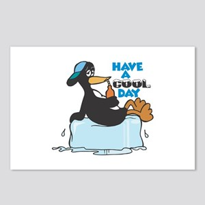 Have a Cool Day Penguin Postcards (Package of 8)