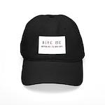 Bite Me (design) Black Cap