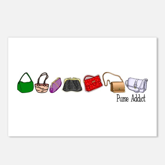 Purse Addict Postcards (Package of 8)
