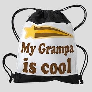 My Grampa Is Cool Drawstring Bag