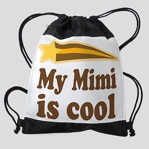My Mimi Is Cool Drawstring Bag