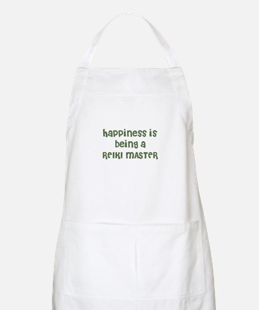 Happiness is being a REIKI MA BBQ Apron