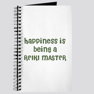 Happiness is being a REIKI MA Journal