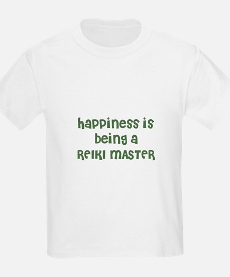 Happiness is being a REIKI MA Kids T-Shirt