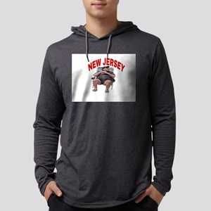 NEW JERSEY Mens Hooded Shirt