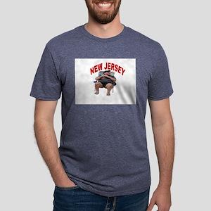 NEW JERSEY Mens Tri-blend T-Shirt