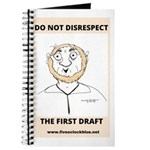 Coffee Ring Cartoon Notebook