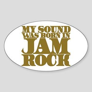 JAMROCK Oval Sticker