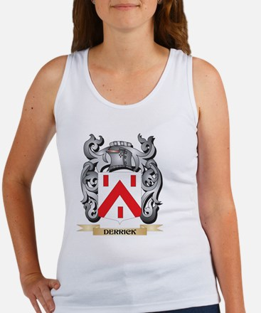 Derrick Coat of Arms - Family Crest Tank Top