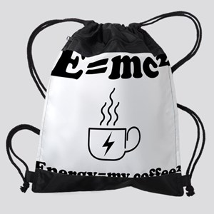 Coffee energy Drawstring Bag