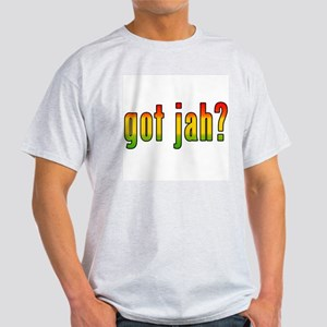 got jah? Ash Grey T-Shirt
