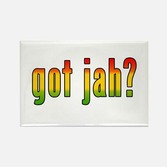 got jah? Rectangle Magnet