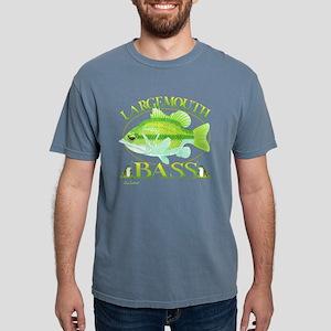 Large Mouth Bass1 copy.p Mens Comfort Colors Shirt