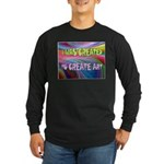 CREATE ART Long Sleeve T-Shirt