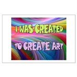 CREATE ART Posters