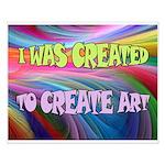 CREATE ART Posters
