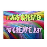 CREATE ART Postcards (Package of 8)