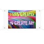 CREATE ART Banner