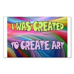 CREATE ART Sticker