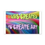 CREATE ART Wall Decal