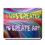 CREATE ART Mousepad