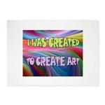 CREATE ART 5'x7'Area Rug