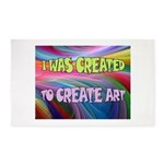 Create Art Area Rug