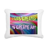 CREATE ART Rectangular Canvas Pillow