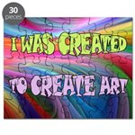 CREATE ART Puzzle