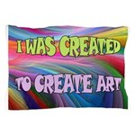 CREATE ART Pillow Case