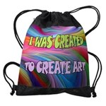 CREATE ART Drawstring Bag