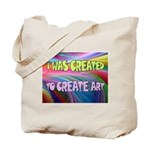 CREATE ART Tote Bag