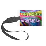 CREATE ART Luggage Tag
