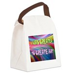 CREATE ART Canvas Lunch Bag