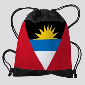 Antigua and Barbuda Flag Drawstring Bag