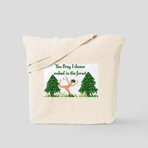 Naked Pagan Tote Bag
