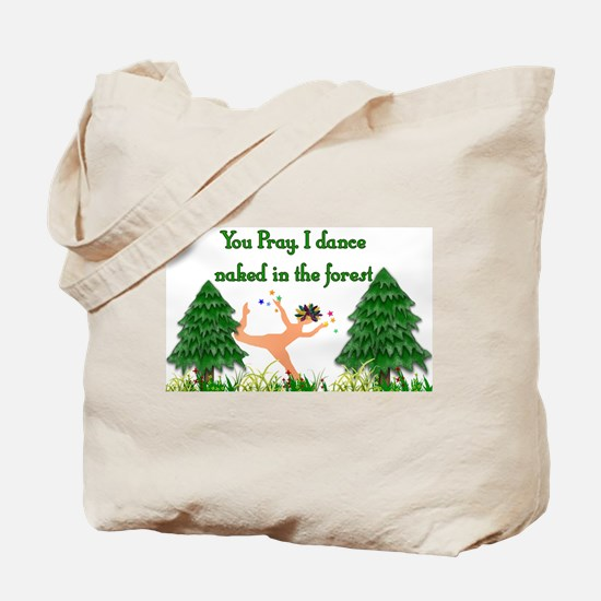 Naked Pagan Tote Bag