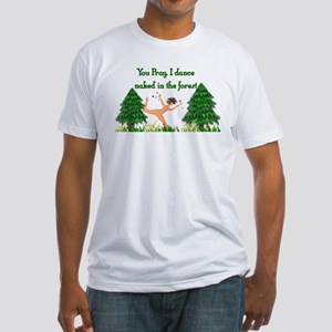 Naked Pagan Fitted T-Shirt